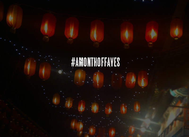 A Month of Faves 2016