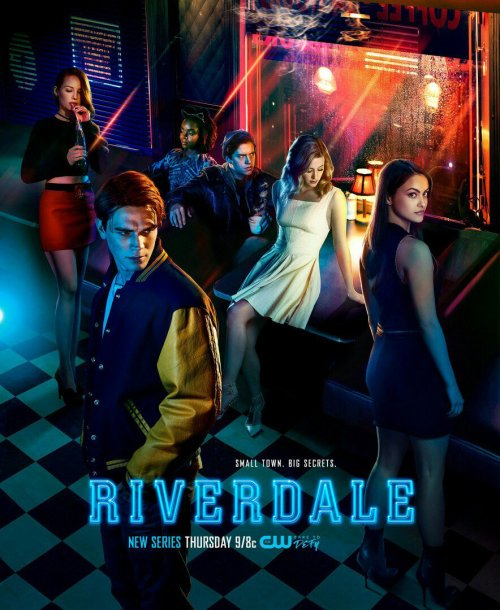 Riverdale on the CW dark