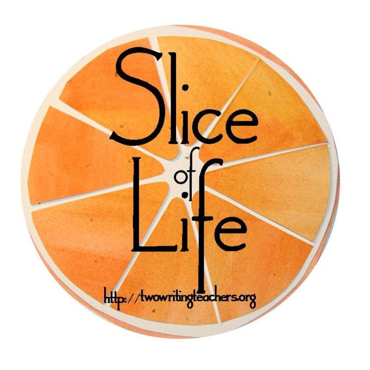 Slice of Life is a writing challenge hosted by Two Writing Teachers.