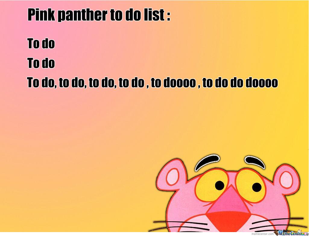 to do list