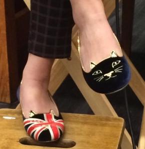 Marie Lu's shoes