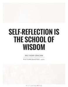 self-reflection-is-the-school-of-wisdom