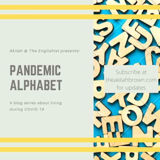 pandemic alphabet