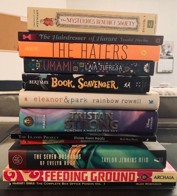 Last Bookstore book haul